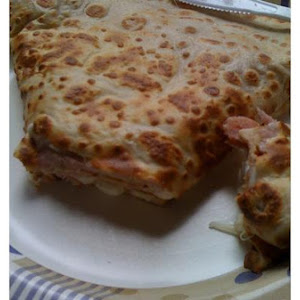 Ham and Cheese Crepes