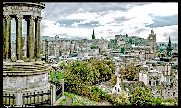 Photo: THE VIEW FROM CALTON HILL, LOOKING WEST TO THE CASTLE AND OLD TOWN, EDINBURGH http://goo.gl/xJ6VQ8