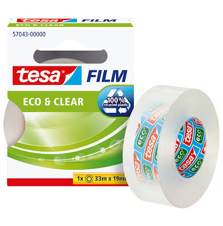 Tejp Tesa Eco klar 33mx19mm