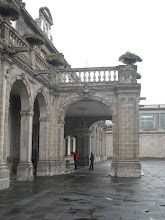 Photo: The group visited the Mexican National History Musuem, housed in the grandiose Chapultepec Castle.