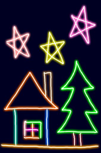 Neon Blink Draw - 闪烁的绘画软件
