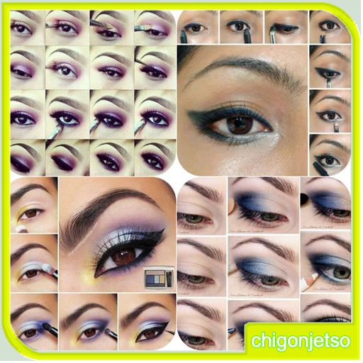 眼妆教程 生活 LOGO-玩APPs