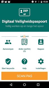 DVP-app - náhled