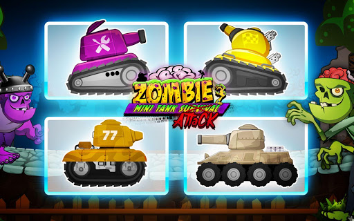 Zombie Survival Games: Pocket Tanks Battle  screenshots EasyGameCheats.pro 1