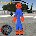 Amazing Spider Stickman Rope Hero Gangstar Crime icon