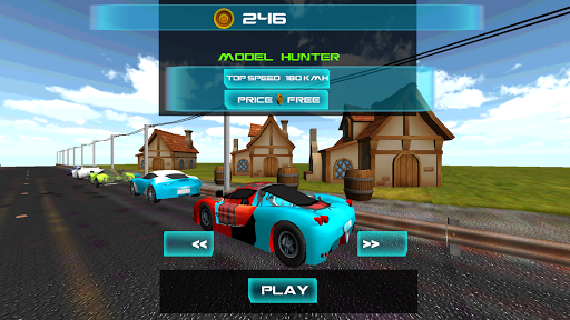 3D Furious Car Fast Racing Cop