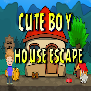 Cute Boy House Escape screenshot 0
