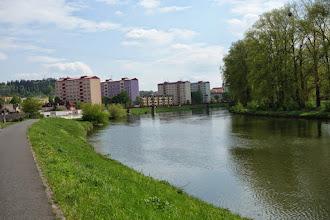 Photo: podél řeky Moravy u Napajedel