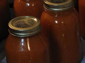 Tomato Soup, condensed (in a pressure cooker)