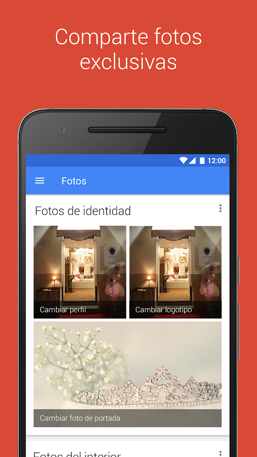 Google My Business: captura de pantalla