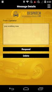 TBMS Driver dispatch software screenshot 6