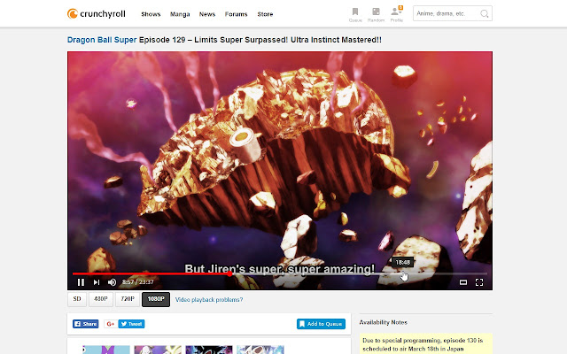 Crunchyroll html5 chrome web store ccuart Images