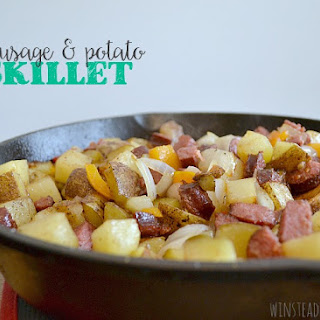 Sausage and Potato Skillet.