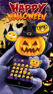 Happy Halloween 2017 Keyboard Theme - náhled