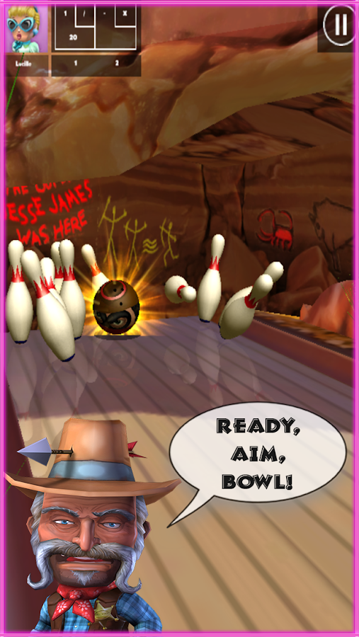 Lucky Lanes Bowling- screenshot