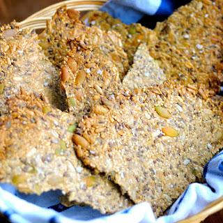 Crispbread with Flaxseed Meal.
