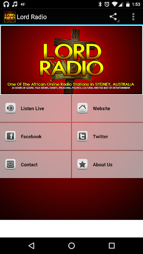 Lord Radio Australia  screenshots 1