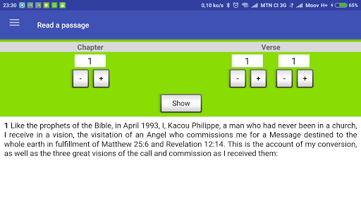 Prophet Kacou Philippe (Official) android2mod screenshots 11