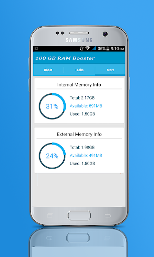 Download 100 GB RAM Booster : 100 GB Storage Space Cleaner Google