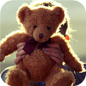 Teddy bear. Live wallpapers