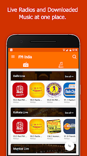 FM Radio India - Live Stations- screenshot thumbnail