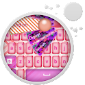 Pink Candy Keyboard icon