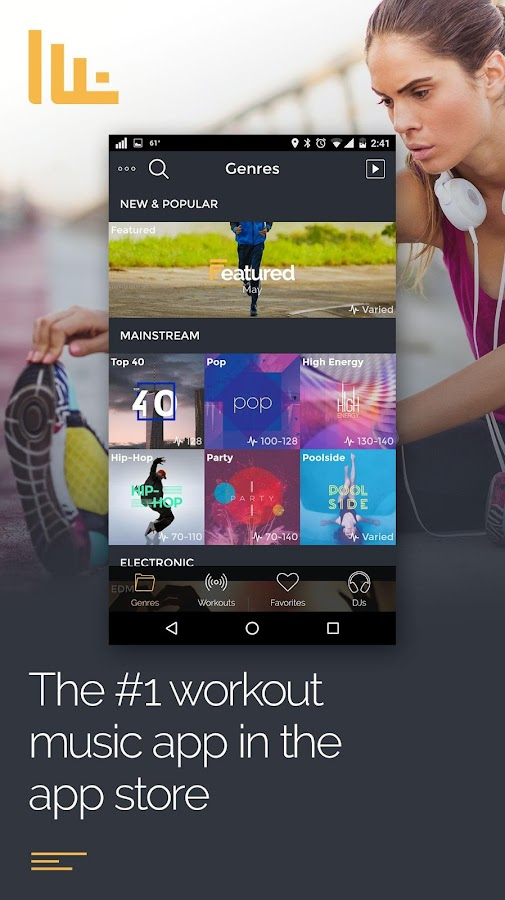fit radio workout music android apps on google play. Black Bedroom Furniture Sets. Home Design Ideas
