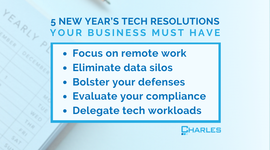 5 IT New Year's Resolutions Your Company Should Have