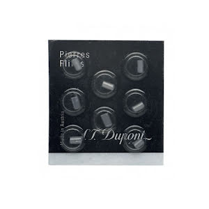 S.T.Dupont Flints Vit/Grå