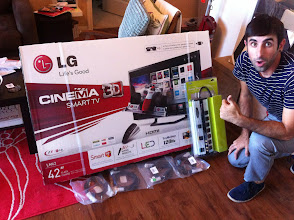 Photo: Here is our Video Contest Grand Prize winner with his prizes. Thanks for sharing Christian