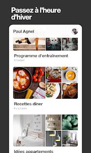 Pinterest: inspirations cuisine, décor, art & mode Capture d'écran