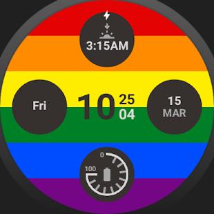 GMT Queer Watchface