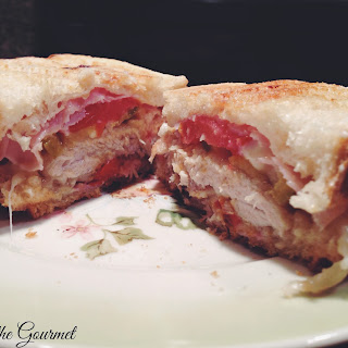 Grilled Fried Chicken Panini.