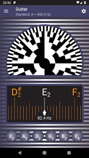 Strobe Guitar Tuner Pro screenshot 1