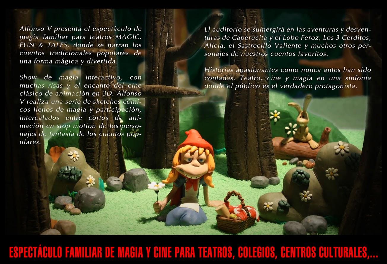 MAGIC FUN AND TALES - la magia de los cuentos 1