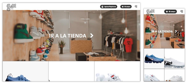 Tienda online GM Baires