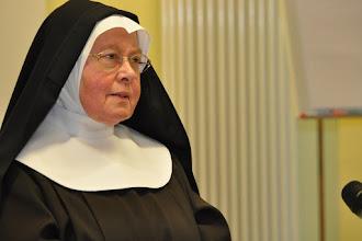 Photo: Sr. Bernadette Bargel OSC über 'Die Klarissen-Äbtissin Caritas Pirckheimer von Nürnberg und die Reformation'