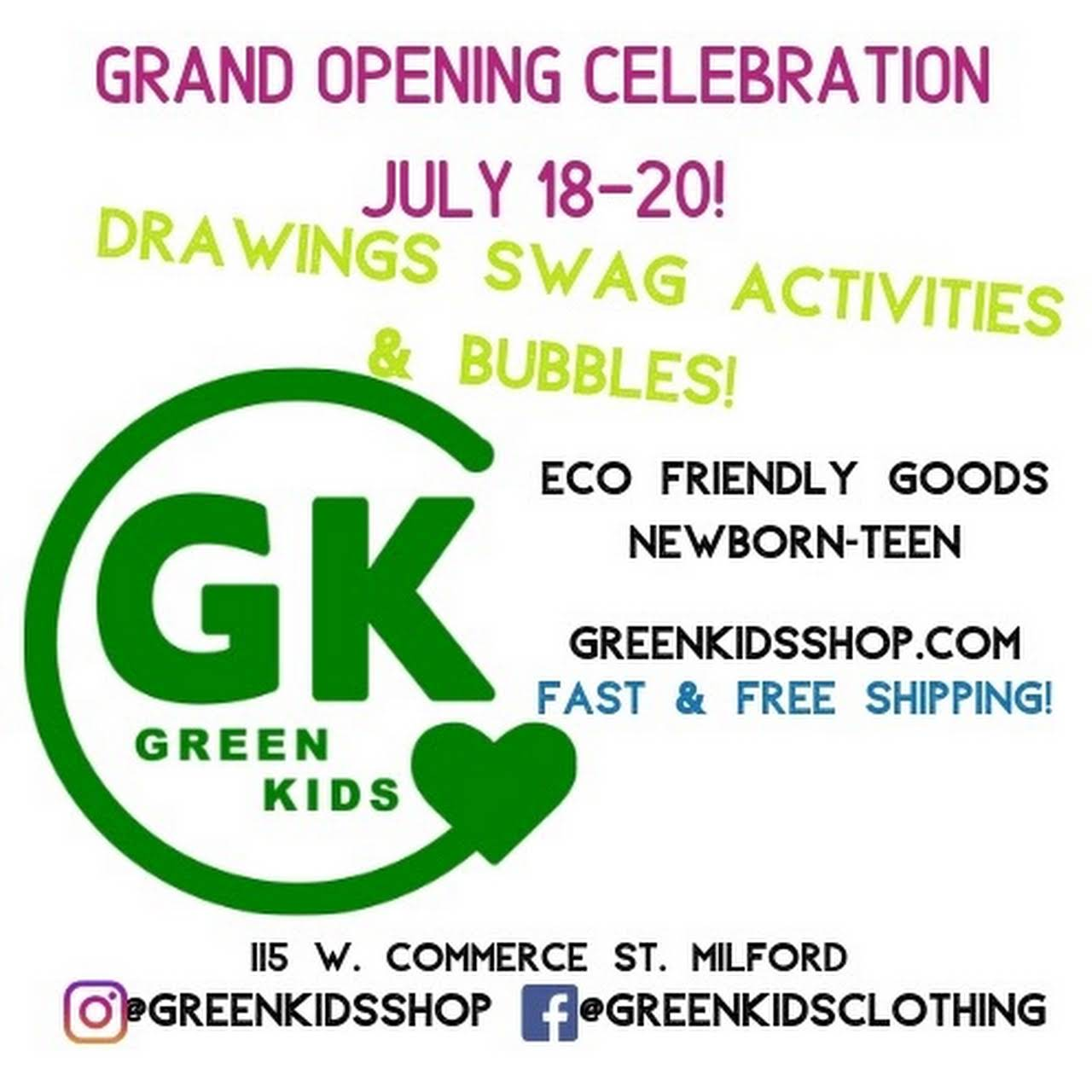 Green Kids - Eco-Friendly Clothes & Accessories, Gifts, Toys