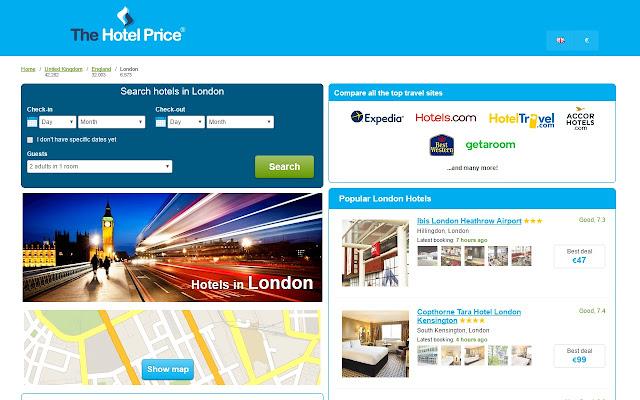 Best Hotel Deals in London - Hotel Finder