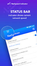 NetSpeed Indicator - Speed Meter WiFi / 5g,3G,4G 18 6 1