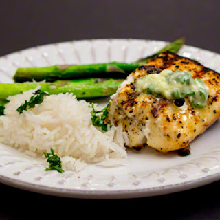 Cilantro-Lime Compound Butter for Fish