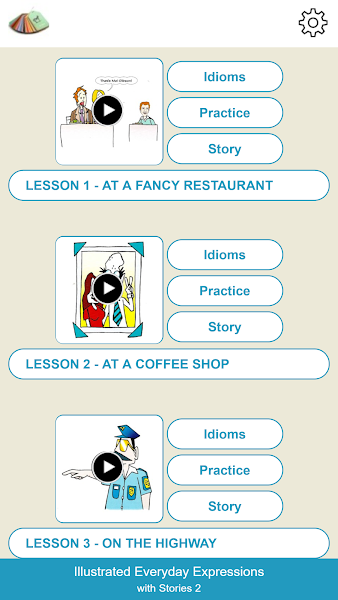 illustrated Everyday Expressions with Stories 2