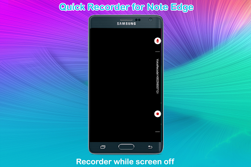 Quick Recorder for Note Edge
