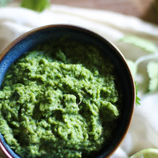 Easy Green Curry Paste