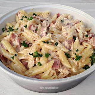 Bacon Pasta Mozzarella Recipes.