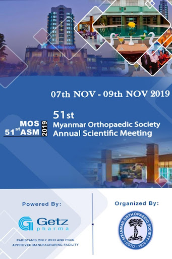 Myanmar Orthopaedic Society Meeting screenshot 2