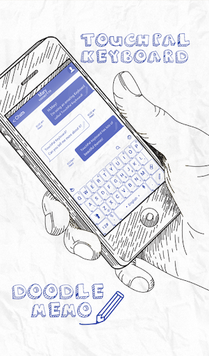 TouchPal Doodle Memo keyboard