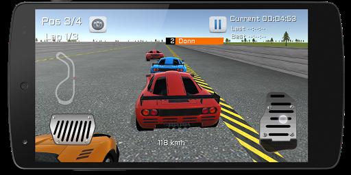 快速賽車 3D