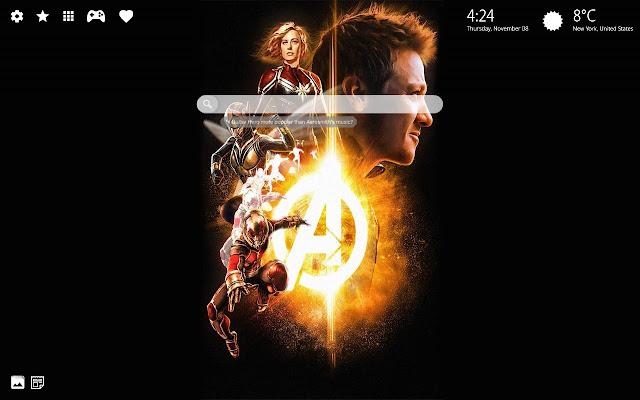 Avengers Endgame Wallpaper Hd Theme
