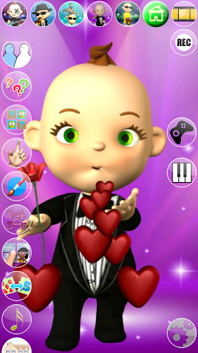 My Talking Baby Music Star 2.31.0 screenshots 1